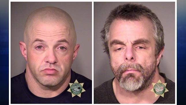 Kendall Kuhns, Gary Doser (jail booking photos)