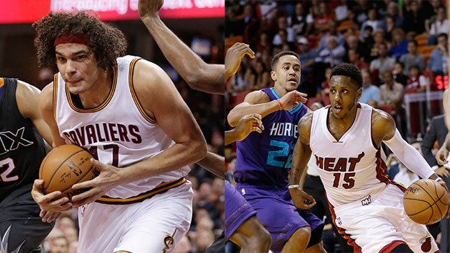 The Blazers traded for Anderson Varejao and Brian Roberts before the trade deadline Thursday, later placing Varejao on waivers. (AP/Tony Dejak & Wilfredo Lee