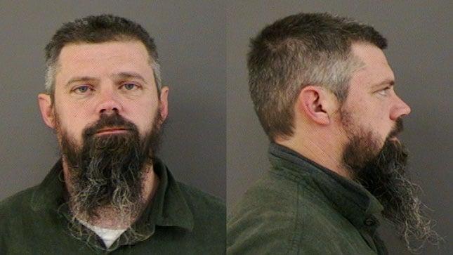Ivan Duane Page, jail booking photo