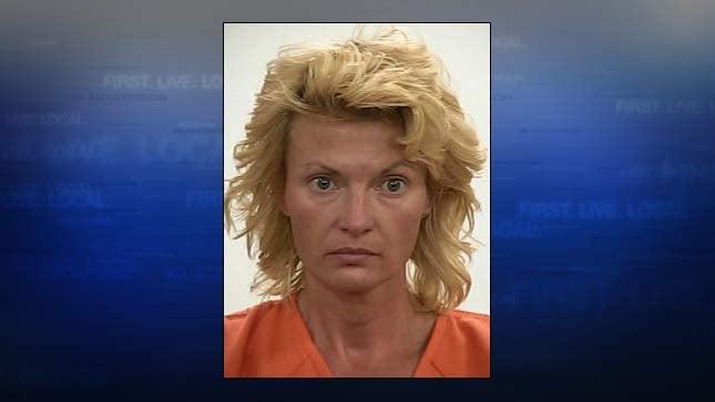 Melissa Bowerman, jail booking photo