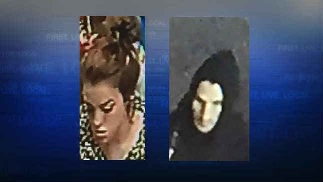 Surveillance image of two of the suspects. (Photo: Vancouver Police)