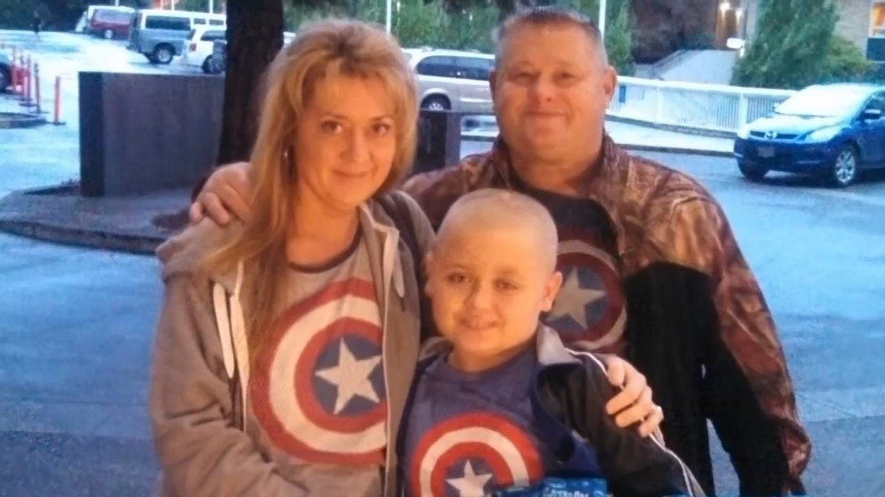 Carrie and John Miller are trying to raise money to their son Brody, who is fighting abnormal vascular malformation. (KPTV)