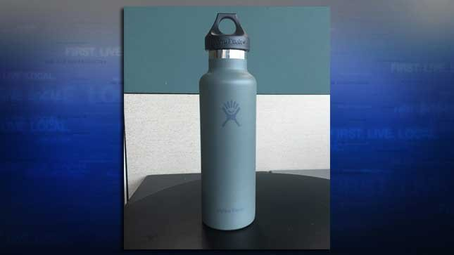 One of Hydro Flask's popular stainless steel bottles (Photo: KPTV)