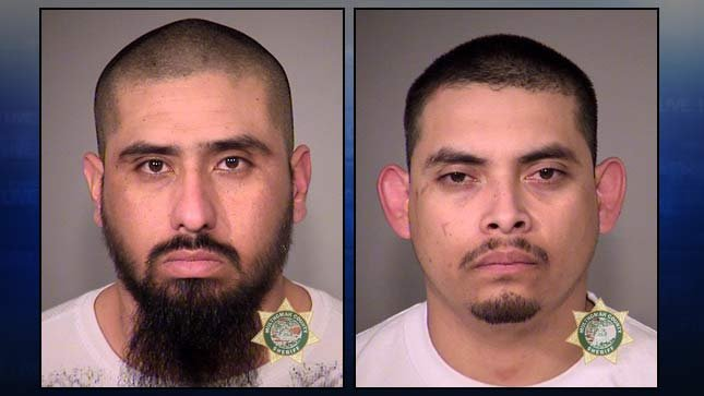 Jose Joel Helguera Del Rio, Alberto Alejandro Martinez (jail booking photos)