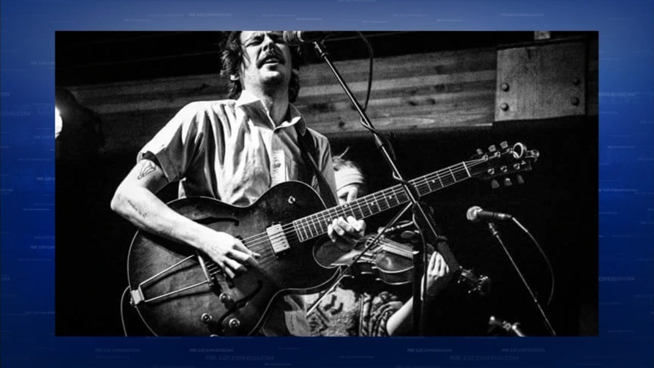Taylor Kingman, leader of Portland band the Hill Dogs, said a vintage guitar and amp were stolen from his car after a show earlier this month. (KPTV)