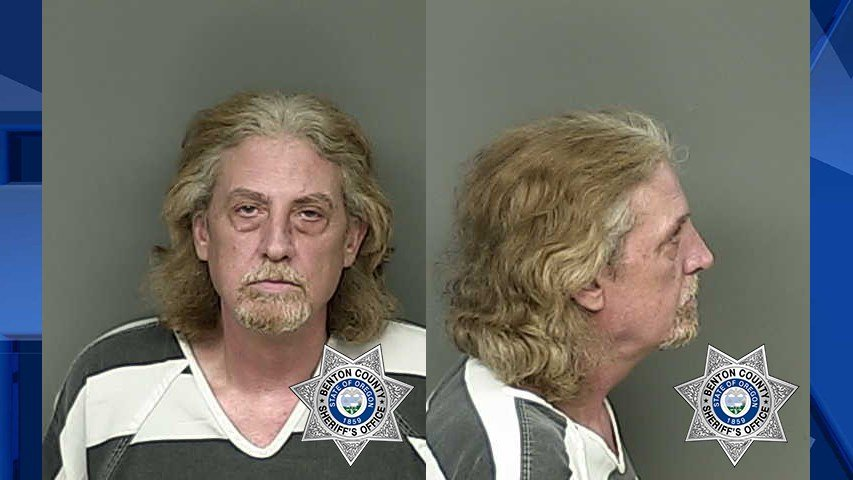 Craig Chapman, booking photo (Image: Benton County Sheriff's Office)