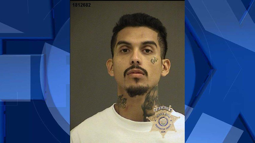 Rafael Tovar-Juarez, booking photo (Image: Beaverton Police Department)