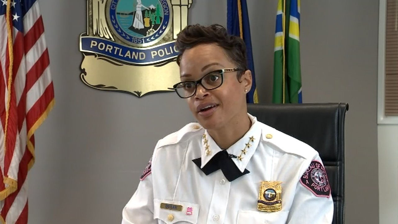 Portland Police Chief Danielle Outlaw (KPTV)