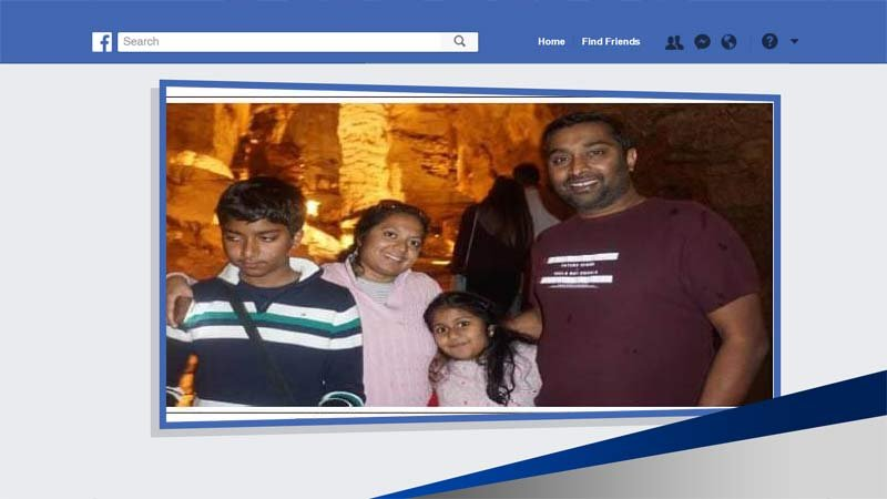 Thottapilly family (Photo: Facebook)