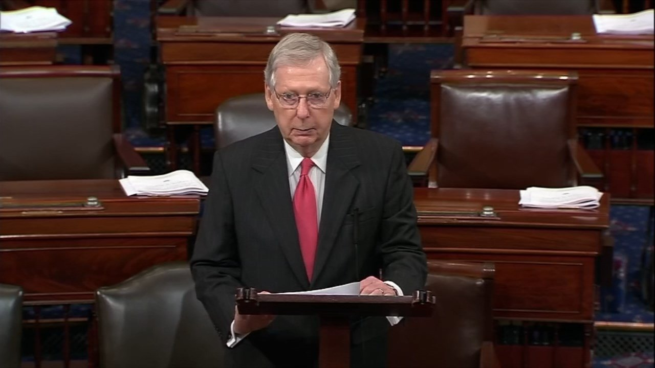 Senate Majority Leader Mitch McConnell (CNN/KPTV file image)