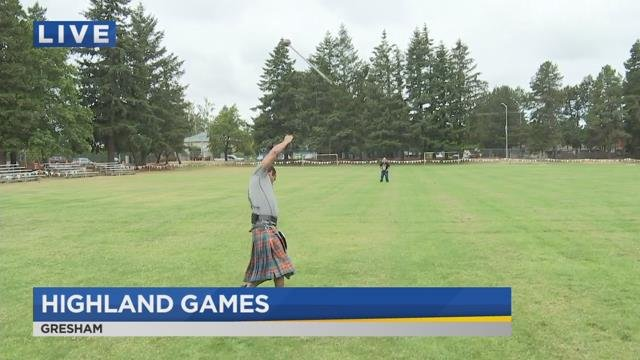 On the Go with Joe at Portland Highland Games
